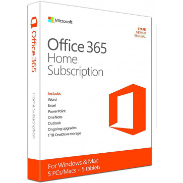 MICROSOFT OFFICE 365 Home, licenta electronica - ESD, 1 an, All Languages