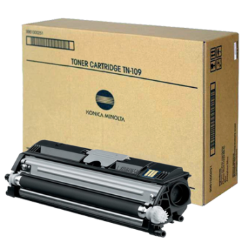 Toner, black, MINOLTA TN109