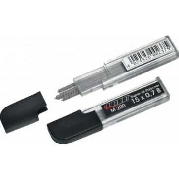 Mine pentru creion 0.5mm, B, 15 buc/etui, LACO