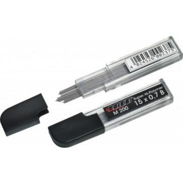 Mine pentru creion 0.5mm, HB, 15 buc/etui, LACO