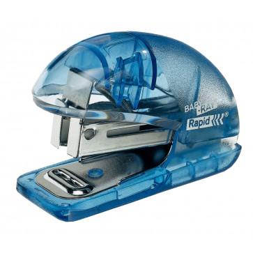 Mini-capsator Rapid Baby-Ray F4, 10 coli, albastru translucid, blister
