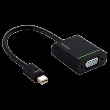 Mini Display Port in Adaptor VGA, negru, LEITZ Complete