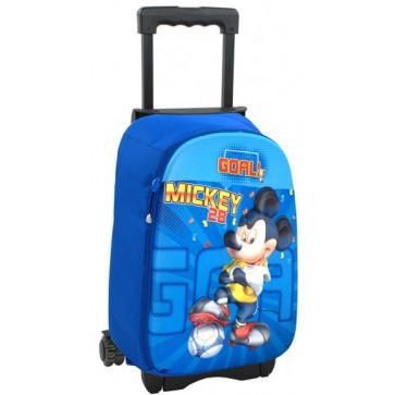Troller, clasele 1-4, albastru, MICKEY MOUSE 3D