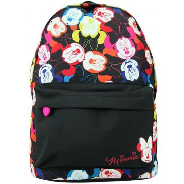 Ghiozdan, gimnaziu, simplu, negru, PIGNA Minnie Mouse