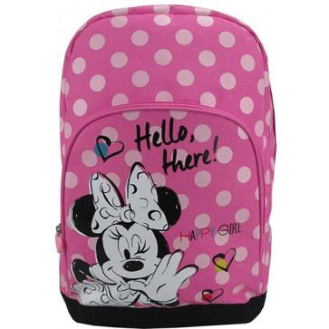 Ghiozdan, clasele 1-4, roz, PIGNA Minnie Mouse