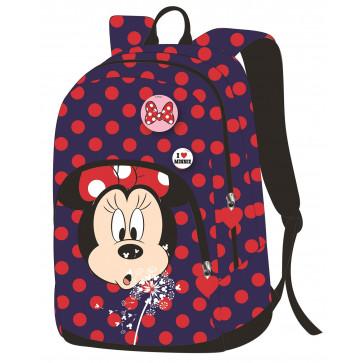 Ghiozdan, gimnaziu, albastru, PIGNA Minnie Mouse