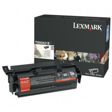 Toner, black, LEXMARK T650A21E