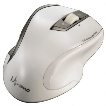 Mouse Wireless laser, 1600dpi, alb, HAMA Mirano