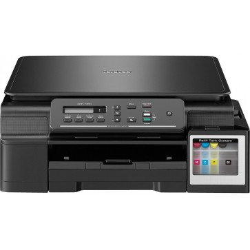 Multifunctional inkjet color BROTHER DCPT300YJ1 CISS, A4, USB