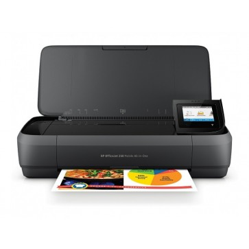 Multifunctional inkjet color HP OfficeJet 252 Mobile All-in-One, A4, Wi-Fi