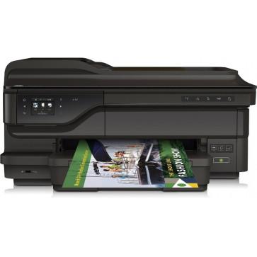 Multifunctional inkjet color HP Officejet 7612 e-All-in-One de format lat, A3+, USB, Retea, Wi-Fi