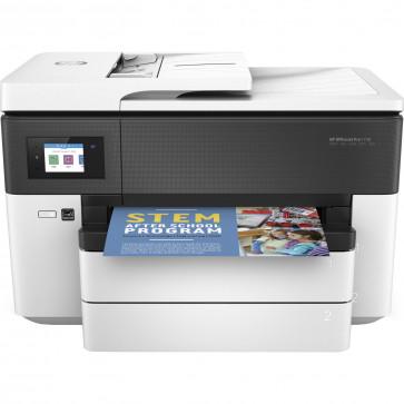 HP OfficeJet Pro 7730 Wide Format All-in-One Obtii culori de calitate profesionala la dispozitie pentru afaceri. Imprimi pana la dimensiunea de 27,9 x 43,18 cm (11 x 17 inchi) (A3), la un cost pe pagina cu pana la 50% mai mic fata de varianta laser si ges