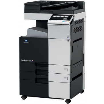 Multifunctional laser color KONICA MINOLTA Bizhub C308, A3 + Feeder (DF-629) + Desk (DK-510) + Tonere (Bk/C/M/Y)