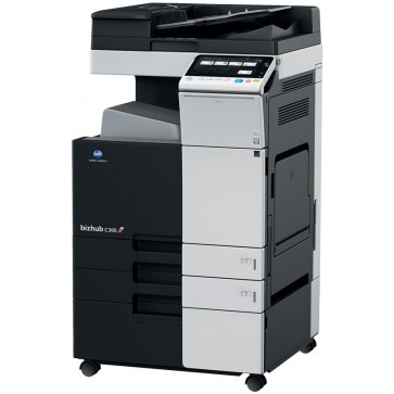 Multifunctional laser color KONICA MINOLTA Bizhub C368, A3 + Feeder (DF-629) + Desk (DK-510) + Tonere (Bk/C/M/Y)