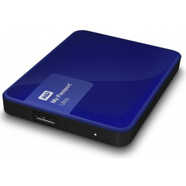 Hard disk extern WD My Passport Ultra 500GB Blue USB 3.0 Hardware Encryption