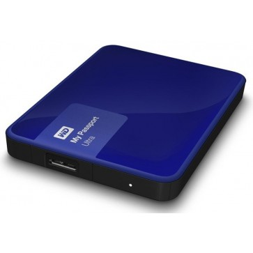 Hard disk extern WD My Passport Ultra 1TB Blue USB 3.0 Hardware Encryption