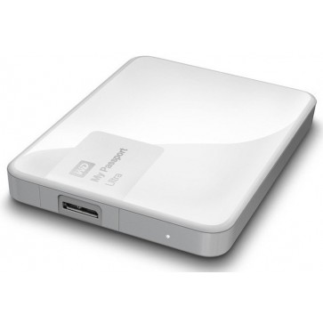 Hard disk extern WD My Passport Ultra 500GB White USB 3.0 Hardware Encryption