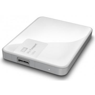 Hard disk extern WD My Passport Ultra 1TB White USB 3.0 Hardware Encryption