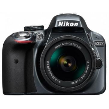 NIKON D3300 Kit AF-P 18-55mm VR (grey)