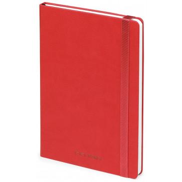 Caiet de birou A5, rosu, din imitatie de piele, FEDON Notebook