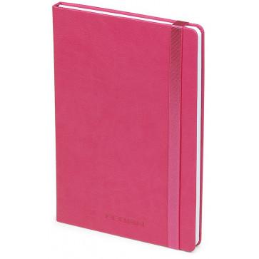 Caiet de birou A5, fuchsia, din imitatie de piele, FEDON Notebook