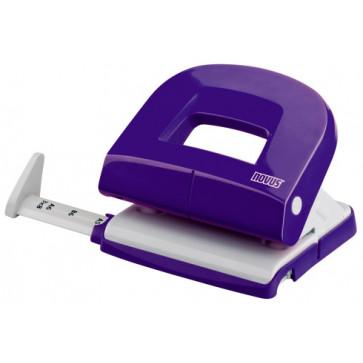 Perforator de birou, pentru maxim 16 coli, violet, NOVUS E216 Fresh