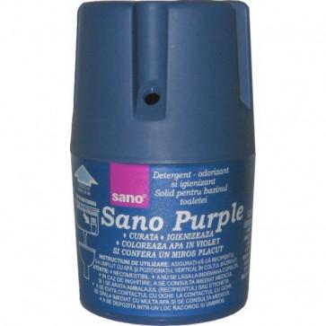 Odorizant solid, pentru bazin WC, 150 gr, SANO Blue