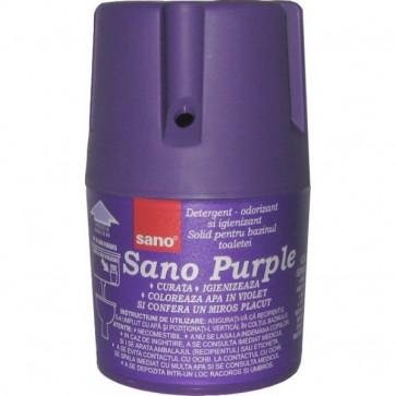 Odorizant solid, pentru bazin WC, 150 gr, SANO Purple