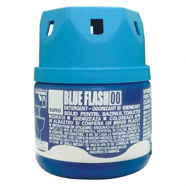 Odorizant solid, pentru bazin WC, 200 gr, SANO Blue