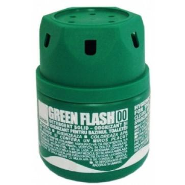 Odorizant solid, pentru bazin WC, 200 gr, SANO Green