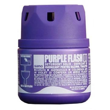 Odorizant solid, pentru bazin WC, 200 gr, SANO Purple