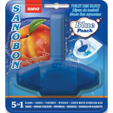 Odorizant solid, pentru vas WC, 55 gr, SANO Bon Peach 5-in-1