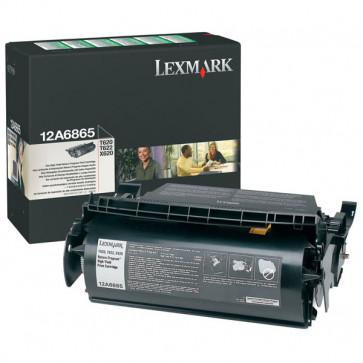 Toner, black, LEXMARK 12A6865
