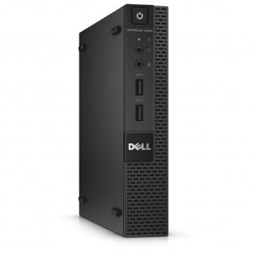 Desktop PC DELL OptiPlex 3020 Micro, Procesor Intel® Core™ i5-4590T 2GHz Haswell, 4GB DDR3, 500GB HDD, GMA HD 4600, Wi-Fi, Bluetooth, Linux