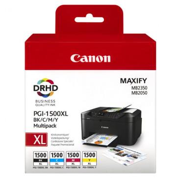 Cartus, BK/C/M/Y, 4 buc./set, CANON PGI-1500XL MultiPack