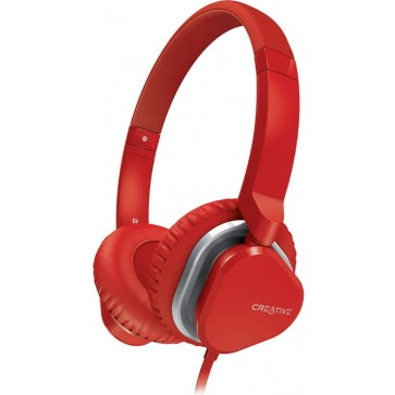 Casti CREATIVE Labs Over-Head Hitz MA2400 Red