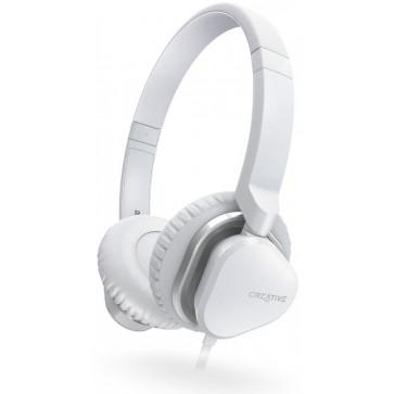 Casti CREATIVE Labs Over-Head Hitz MA2400 White