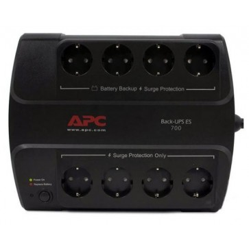 UPS APC Power-Saving Back-UPS ES 8 Outlet 700VA 230V CEE 7/7
