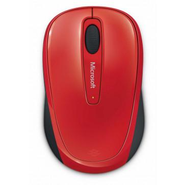 Mouse Wireless MICROSOFT MOBILE 3500 GMF-00196, 1000dpi, rosu
