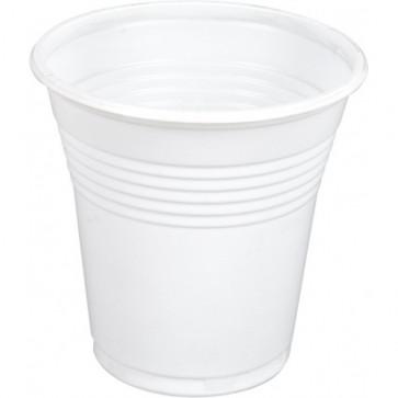 Pahare, 100 buc set, vending, 160 ml, albe, Dopla
