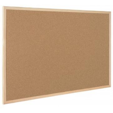 Panou de pluta, rama de 14mm, din lemn de pin, 60 x 45cm, BI-OFFICE