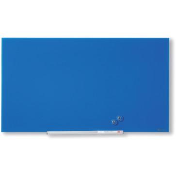 Panou din sticla 67.7 x 38.1cm, albastru, NOBO Diamond