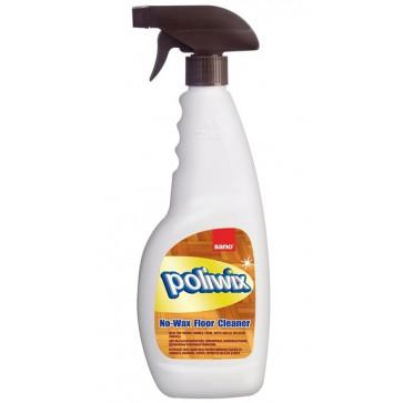 Detergent pardoseli, pulverizator, 1L, SANO Poliwix Parquet