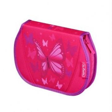 Penar, echipat, 26 piese, HERLITZ Flexi Pink Butterfly