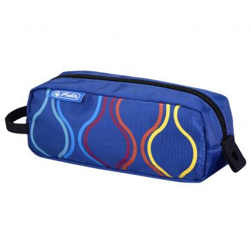 Necessaire, albastru, HERLITZ Be.Bag Quattro Bubbles