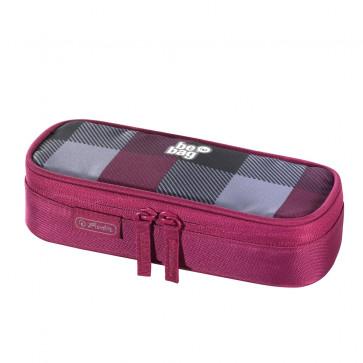 Necessaire, roz/gri, HERLITZ Be.Bag Cube carouri