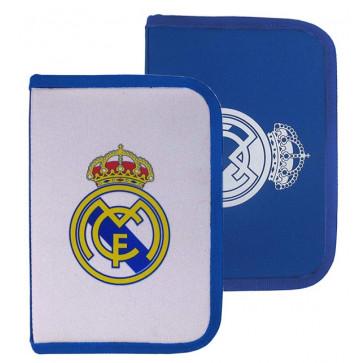 Penar neechipat, 1 fermoar, 2 extensii, alb si albastru, PIGNA Real Madrid