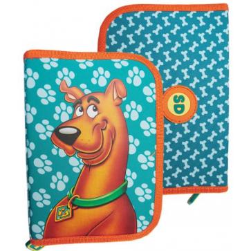 Penar neechipat, 1 fermoar, 2 extensii, verde inchis, PIGNA Scooby Doo