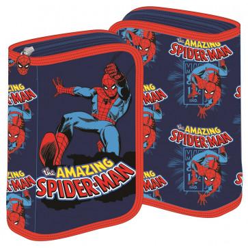 Penar neechipat, 1 fermoar, 2 extensii, albastru, PIGNA Spiderman