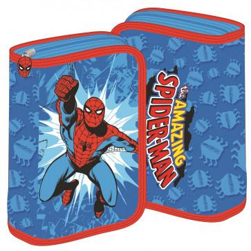 Penar neechipat, 1 fermoar, 2 extensii, bleu, PIGNA Spiderman
